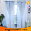 Five star hotel window voile and curtains fabric nice joint