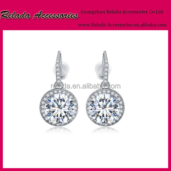 Factory wholesale wedding chunky crystal fashion bridal jewelry sets earrings