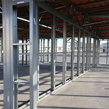 Light Steel House Partition Wall System Stud and Track