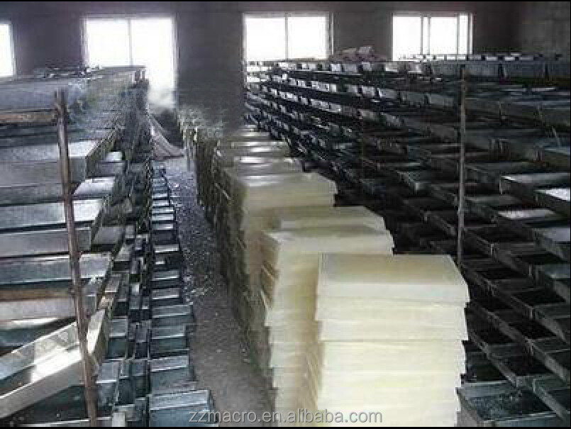 The biggest paraffin wax plant in China