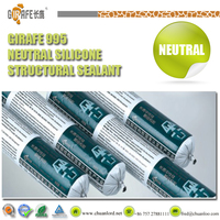 acidic structural silicone sealant adhesive