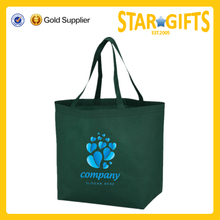 Christmas Promotional Brand Logo Printing Durable 80 GSM Non Woven Eco Shopping Bags