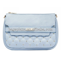 Young lady computer embroidery evening clutch bag / party bag with pearls CL7-013