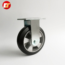 Double Retractable Available Rubber Industrial Medical Swivel Caster Wheel