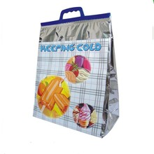 Eco-friendly Foldable Aluminium Foil Thermal Cooler Bag With Handle