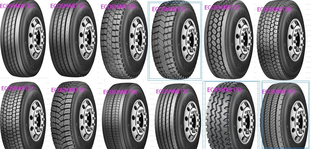 2017 New Semi Steel Trucks Tires 295/75R22.5 open shoulder and all position