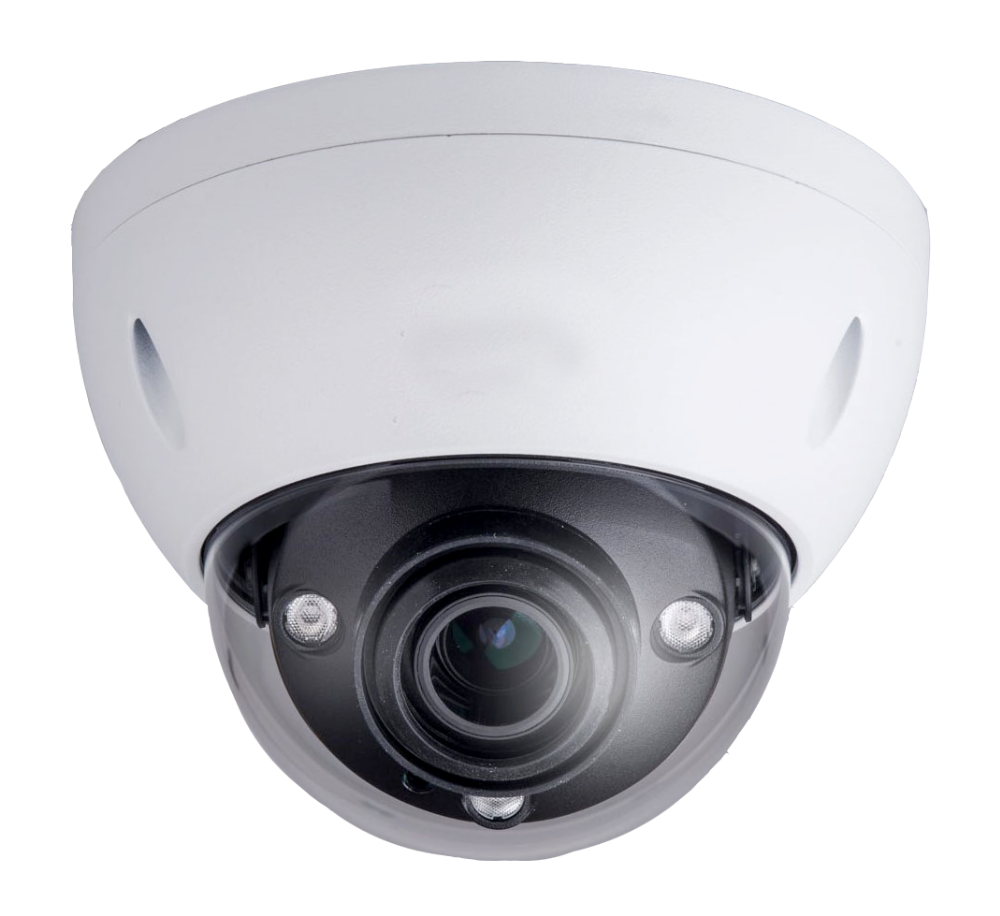 1080P Full HD 2MP Water & Vandal-proof H.265 WDR Smart IR Dome Network Camera