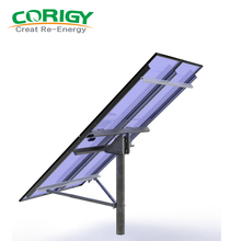 High Quality Pv Racking Single Pile Ground Solar Mounting System