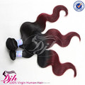 2017 New Arrive Two Tone Ombre Color Body wave Hair Extension 100% Virgin Human Hair Silky Hair Weave