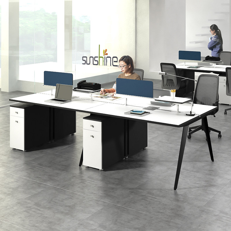 2018 New Design Modular Office Workstation For 2 Person