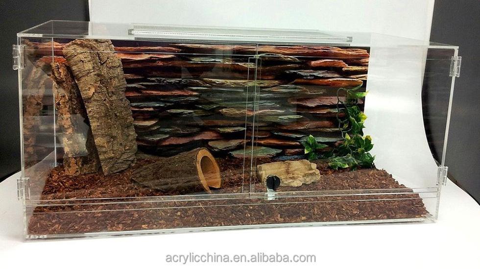customized high quality clear acrylic terrarium buy