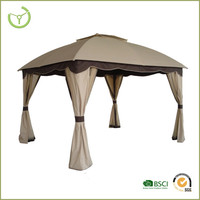 Metal roof pavilion metal pergola party tent with new design made in China for garden use
