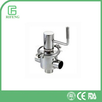Sanitary Stainless Steel Food Grade Diverter Valve Price List
