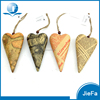 recycled paper mache and paper pulp crafts of newpaper design hanging heart for christmas/home decorations/gifts