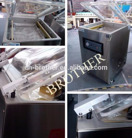VM500TE industrial table model automatic food sealer vacuum packing machine for clothes