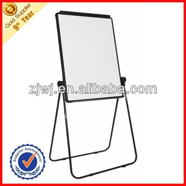 Made in China U flip chart easel with whiteboard flip chart mobile stand