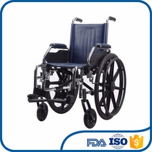 Factory direct supplier ventilate plastic footplate kids wheelchair