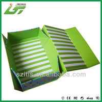 Custom beautiful printing good quality hair extensions packing box