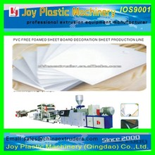 PVC Free Foamed Board Extrusion Line/Machine Unit /Manufacturing Machine