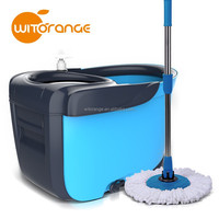 New design cleaning mop stainless steel basket floor spin mop