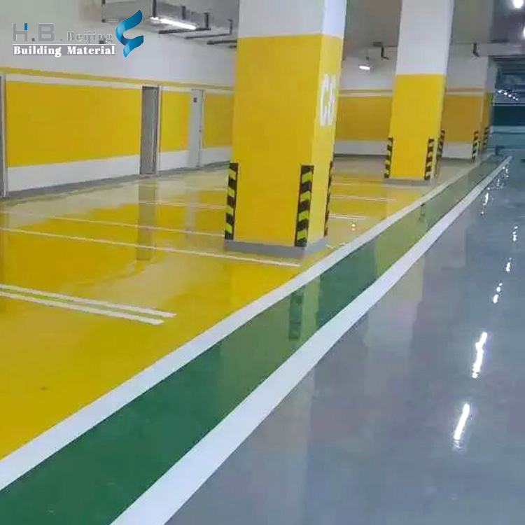 Factory price wear resistance anti-static eco-friendly completely water-based epoxy floor paint