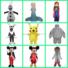 HI high quality CE/ASTM attractive fur custom cartoon character mascot costumes for sale