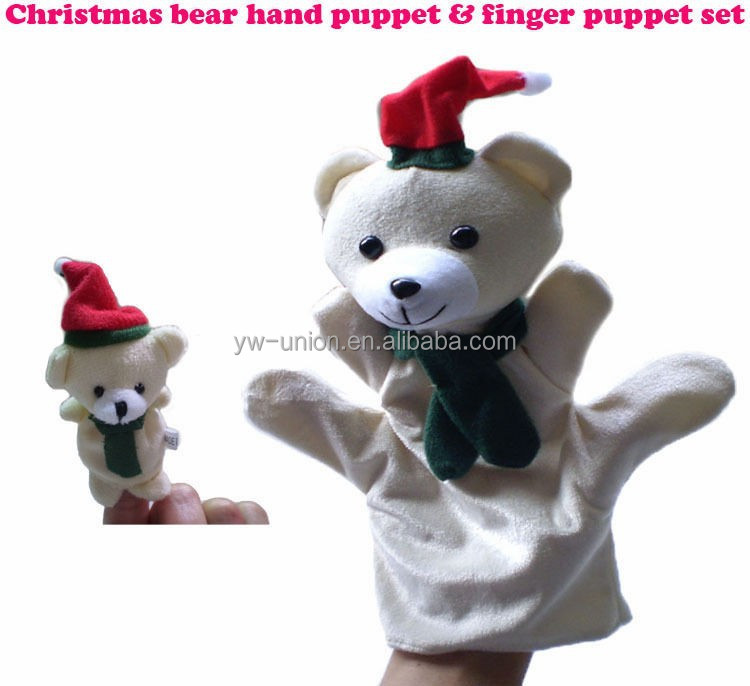 Cute giant finger puppet / handmade making hand puppets animal puppet
