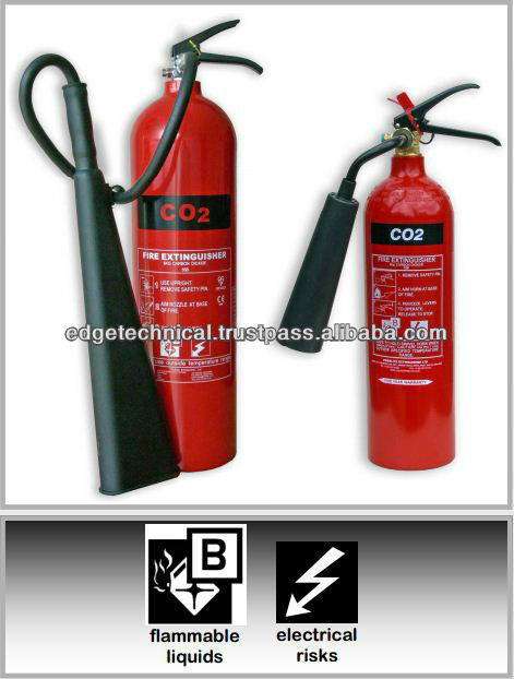 2kg/5kg Carbon Dioxide (Co2) Fire Extinguisher