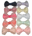 New arrival charming princess hair accessories Double transparent yarn bow