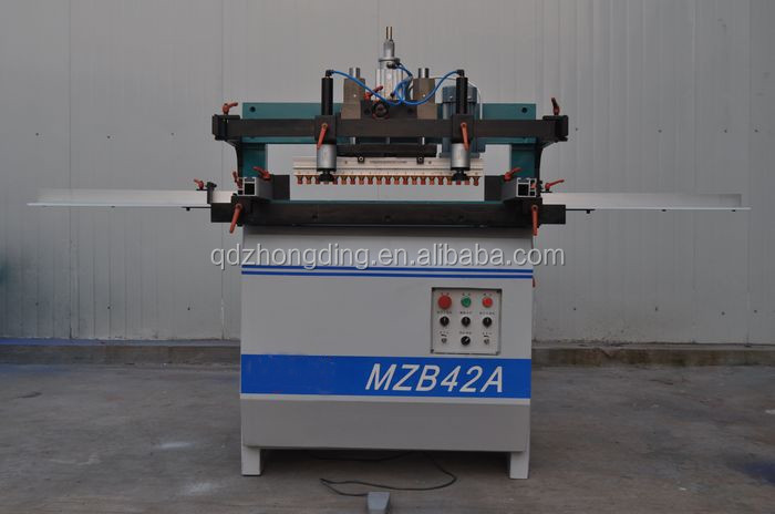 two randed wood carpenter drilling machine