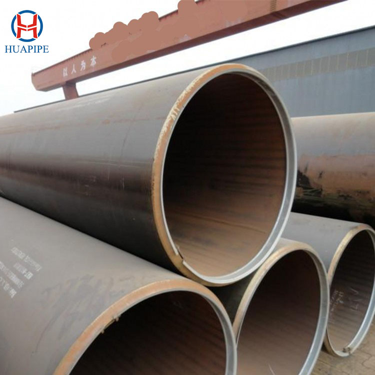 API 5L X60 X65 X70 X80 Welded Carbon Steel Pipe LSAW/DSAW/SAWL Round Steel Pipe