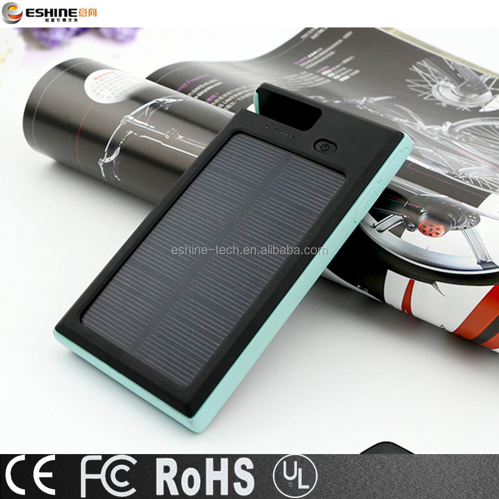 High capacity Waterproof Solar Power bank with mobile phone holder 8000mAh for Samsungs,iphones,Huaweis mart phone