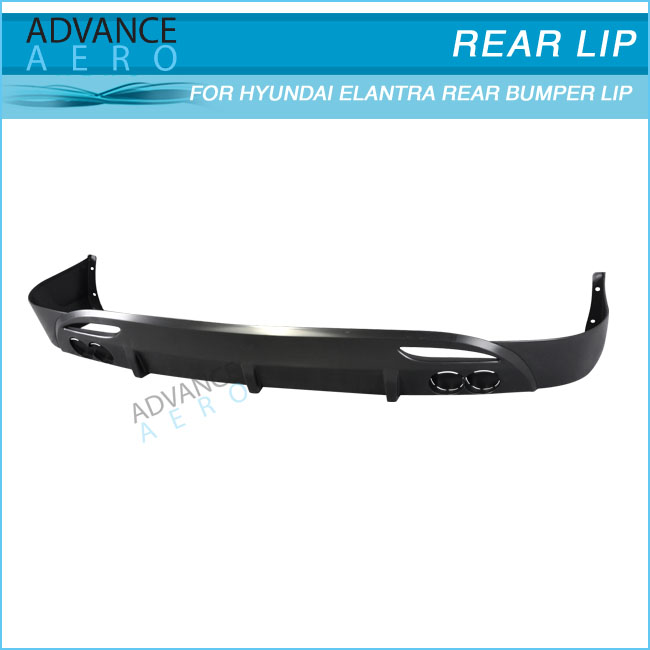 FOR 11-13 HYUNDAI ELANTRA AVANTE MD 4D OE STYLE PP LOWER REAR BUMPER LIP SPOILER BODY KITS