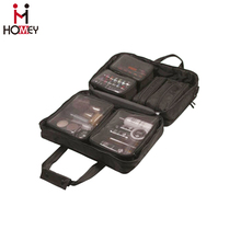 Hanging folding Travelling Storage Bag , Suitcase Organizer Cosmetic Make up Toiletry Bag with PVC