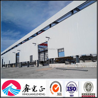 Professional Construction Design Light Steel Structure Prefabricated Warehouse