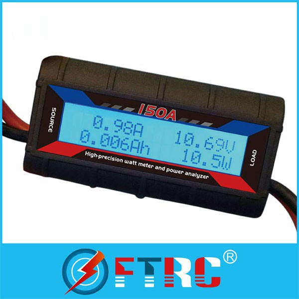 rc watt meter and power analyzer dc digital volt ampere meter