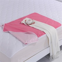 Waterproof and Tear-resistant Rose Red Polar Fleece Microfiber Bed Sheet
