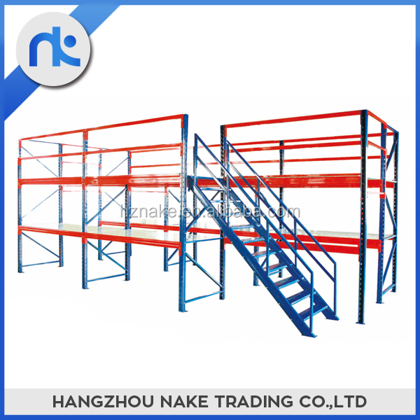 Supply professional custom attic style warehouse storage rack system