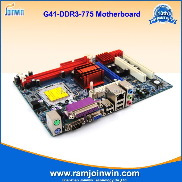 G41 socket 775 motherboard support p4 pci/ ddr3
