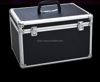 Large capacity empty waterproof ABS aluminum tool case