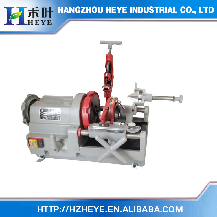 China Factory Electric Pipe Threader HX80 3 Inch portable electric pipe threading machine