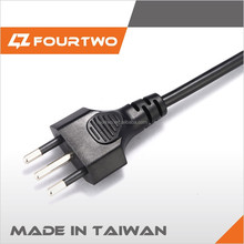 Swiss 3 Pin Plug to IEC C13 Connector Electric Kettle Power Cord