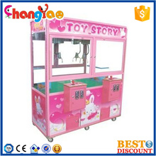 Double Seats Toy Story Amusement Park Mini Claw Machine