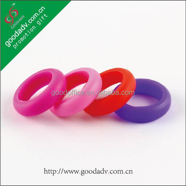Novelty Cheap Fashion Promotion Gifts Custom Silicone Finger Rings