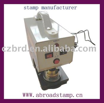 automatic embossing stamp