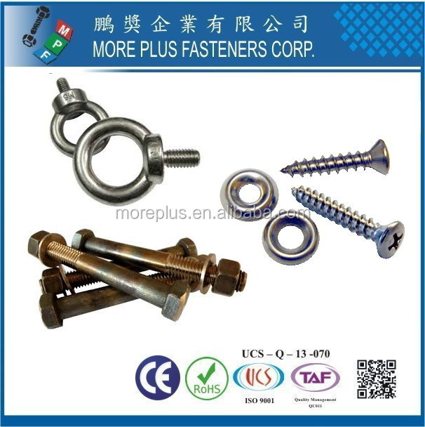 Taiwan Stainless Steel Marine Sail Boat Plywood Shoreline Marine Industrial Fasteners Kit Screws