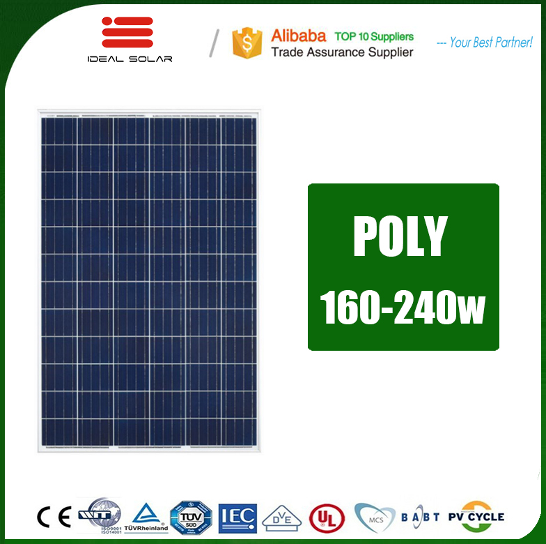 wholesale mono poly solar panel made in china land 175w 180w 200w 230w 240w 170 175 180 w 200 watt pv module with lowest price