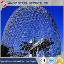 Structural Steel Building Geodesic Domes for Sale