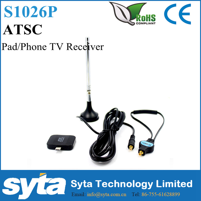 Syta 2016 Mexico ATSC android TV tuner Pad TV receiver mini USB tv tuner