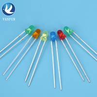 Single color or multi color red blue white very small dip led diode lights